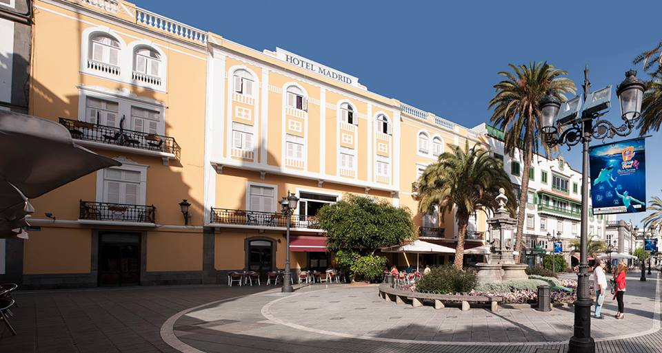 Las Palmas On Hotel Madrid Las Palmas On Buscas Encuentras